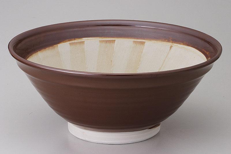 すり鉢 蓋物 12号スリ鉢 [D35.5 x 15.5cm] 【料亭 旅館 和食器 飲食店 業務用】