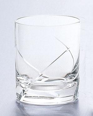 ガラス製品 レジェンド L3カットオールド10 (6個入) [D78 x 92(最大径78)mm300cc] 【料亭 旅館 和食器 飲食店 業務用】