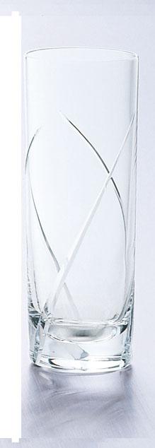 ガラス製品 レジェンド L3カットコーリン10 (6個入) [D60 x 160(最大径60)mm300cc] 【料亭 旅館 和食器 飲食店 業務用】