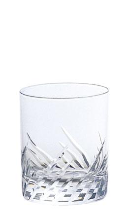 ガラス製品 iライン iF3カットオールド10 (6個入) [D78 x 92(最大径78)mm300cc] 全面イオン強化 【料亭 旅館 和食器 飲食店 業務用】