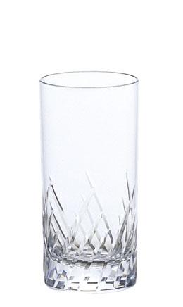 ガラス製品 iライン iF3カットタンブラー8 (6個入) [D61 x 124(最大径61)mm240cc] 全面イオン強化 【料亭 旅館 和食器 飲食店 業務用】