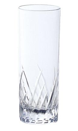 ガラス製品 iライン iF3カットコーリン10 (6個入) [D60 x 160(最大径60)mm300cc] 全面イオン強化 【料亭 旅館 和食器 飲食店 業務用】