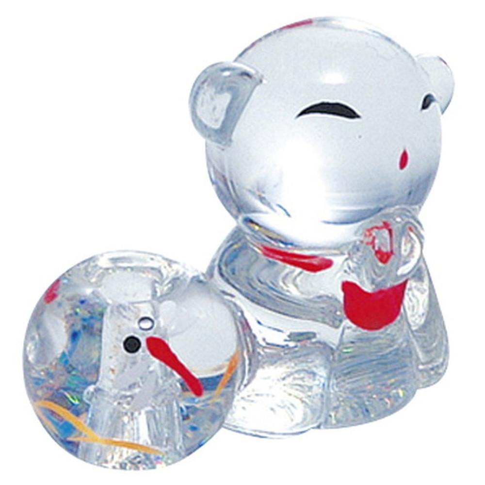 ガラス 香立 お地蔵様 [ H3cm ] 【 香立 】 | HANDMADE インテリア ギフト プレゼントかわいい
