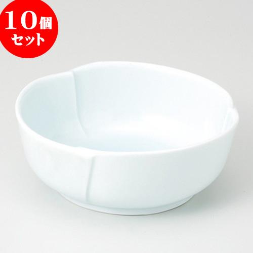 10個セット ☆ 煮物鉢 ☆ 青白磁 6.0刺身鉢 [ 17.3 x 6cm 430g ] 【 料亭 旅館 和食器 飲食店 業務用 】