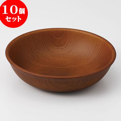 10個セット ☆ 木製プレート ☆ 皿 (小) うす茶 [ 15 x 4cm ] 【 料亭 旅館 和食器 飲食店 業務用 】