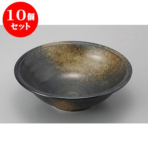 10個セット めん皿・めん鉢 月の輪8.0深鉢 [24 x 7.6cm] 料亭 旅館 和食器 飲食店 業務用