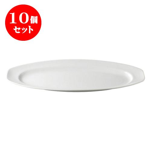 10個セット デリカウェア パーティー皿サーモンプレート(小) [42 x 18 x 3.6cm] 料亭 旅館 和食器 飲食店 業務用