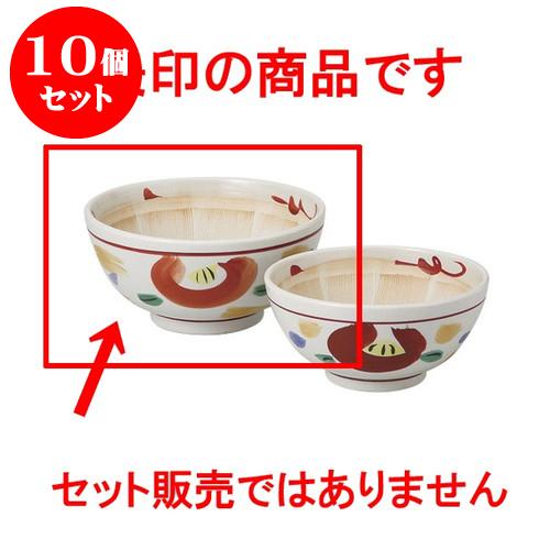 10個セット すり鉢 山茶花6.0スリ鉢 [18 x 5.9cm] 料亭 旅館 和食器 飲食店 業務用