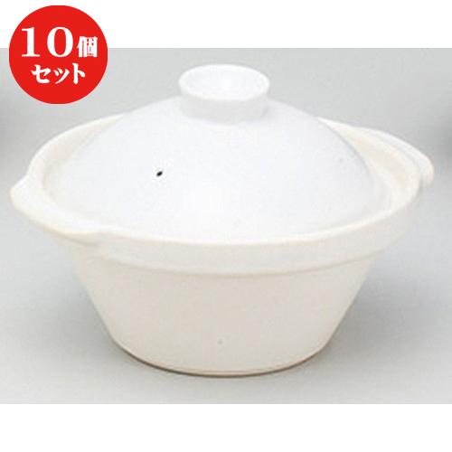 10個セット ☆ 鍋 ☆カスレW22cm [ 22.4 x 20 x 15cm ] 【 料亭 旅館 和食器 飲食店 業務用 】