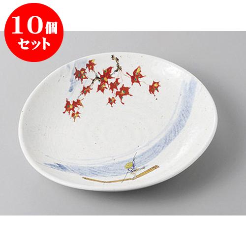10個セット 丸盛皿 粉引嵐山楕円6.0皿 [19.5 x 18.3 x 3.5cm] 強化 | 盛り皿 盛皿 人気 おすすめ フルーツ皿 パーティー パスタ皿 食器 業務用 飲食店 カフェ うつわ 器 ギフト プレゼント 引き出物 誕生日 贈り物 贈答品 おしゃれ かわいい