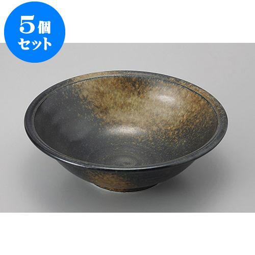 5個セット めん皿・めん鉢 月の輪8.0深鉢 [24 x 7.6cm] 【 料亭 旅館 和食器 飲食店 業務用】