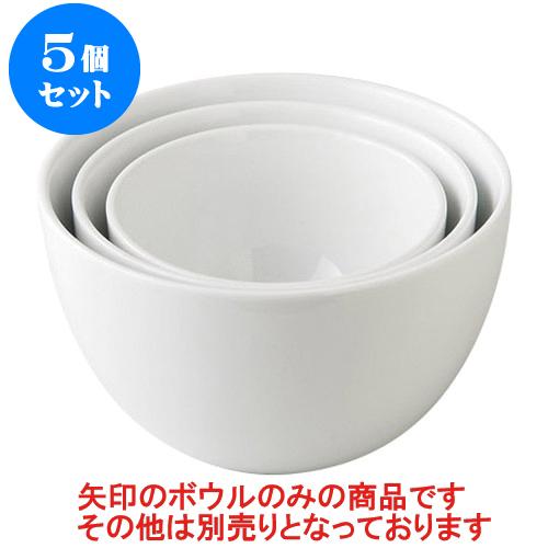 5個セット デリカウェア アラカルトボールL [17.6 x 10cm] 【輸入品 料亭 旅館 和食器 飲食店 業務用】
