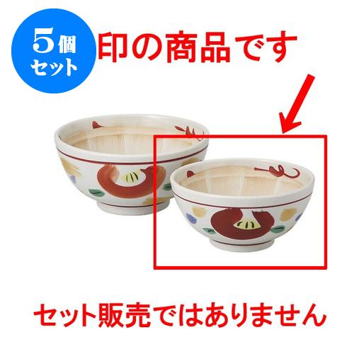 5個セット すり鉢 山茶花5.0スリ鉢 [15.5 x 7.5cm] 【 料亭 旅館 和食器 飲食店 業務用】