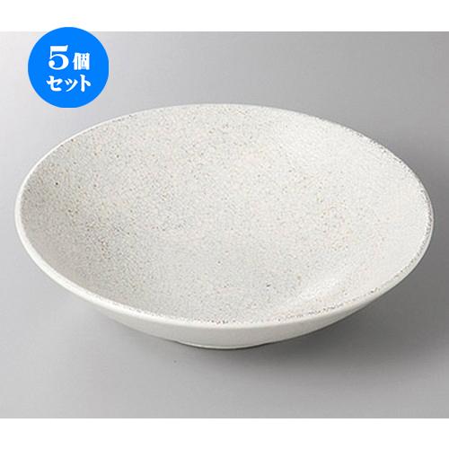 5個セット☆ 盛鉢 ☆飛白7.5浅ボール [ 23.8 x 6.5cm ] 【 料亭 旅館 和食器 飲食店 業務用 】