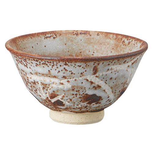 鼠志野平茶碗(木箱入) [ 14.3 x 7.7cm ] [ 抹茶碗 ] | 茶道 野点 日本土産 贈り物