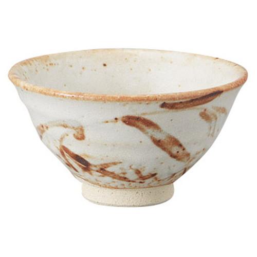 志野平茶碗(木箱入) [ 14.3 x 7.7cm ] [ 抹茶碗 ] | 茶道 野点 日本土産 贈り物