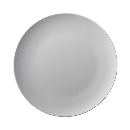 ストーンウーノプレートL(NEOGRAY) [ 28.5 x 2cm ] [ 大皿 ] | 洋食 飲食店 レストラン カフェ モダン おしゃれ 業務用