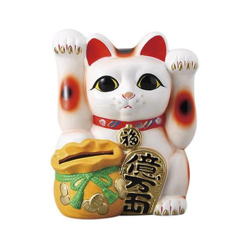 両手上げ宝当猫 [ 20 x 16.5 x 25.5cm ] [ 招き猫 ] | 開店祝い 縁起物 日本土産 ネコ cat