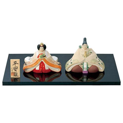 平安雛 [男13cm・女11.5cm] 【雛祭り 桃の節句 かわいい】