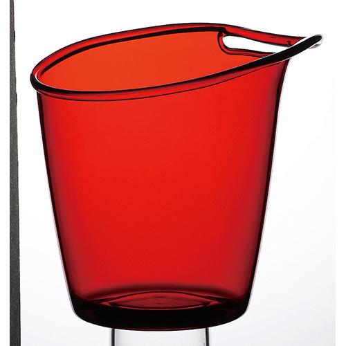 サンテデスキア ワインクーラー レッド [径B45mm 高さ207mm径B(mm)196] 6個入| ワイン ソムリエ ワイナリー 洋酒 バー bar 晩酌 人気 おすすめ 食器 業務用 飲食店 カフェ うつわ 器 おしゃれ かわいい ギフト プレゼント 引き出物 誕生日 贈り物 贈答品