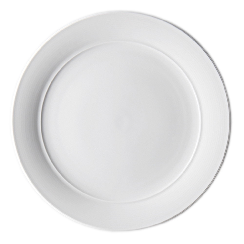オーラ 30cmプレート [ Φ299 x H28mm ] 【 プレート 】| ホテル レストラン 飲食店 洋食器 おしゃれ 業務用 ホワイト