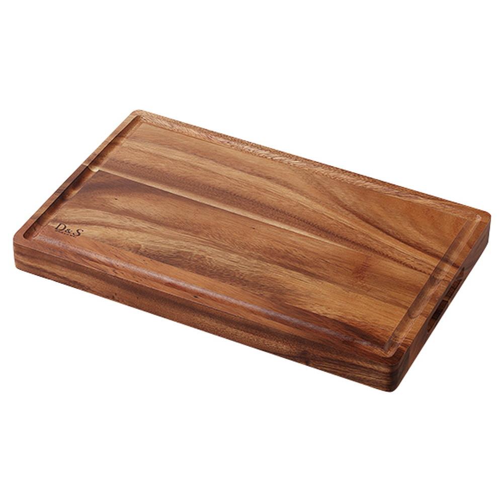 D&S カッティングボード グルーブ [ 約400 x 247 x H35mm ] 【 カッティングボード 】| ホテル レストラン カフェ 飲食店 厨房 キッチン 業務用