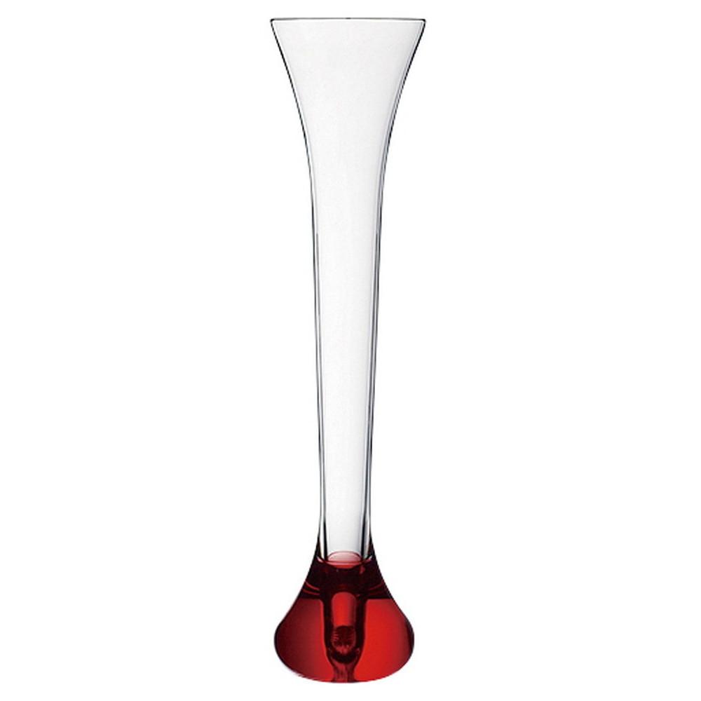 ハーフヤード トライタングラス650 レッド [ Φ107 x H455mm 650ml ] 【 プラスチック 】| ホテル レストラン 飲食店 洋食器 バー 業務用