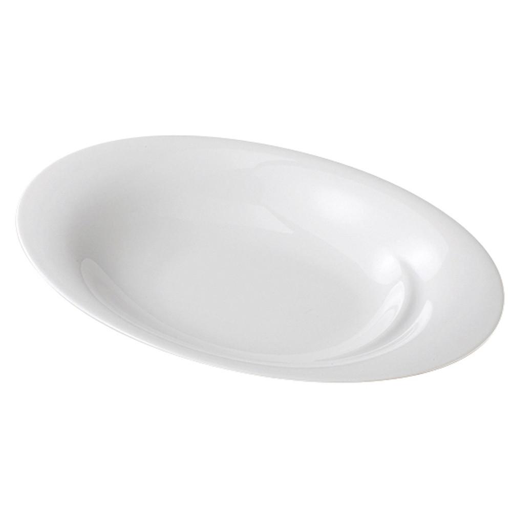 イン・グレディエンティ オーバルプレート32cm [ ローゼンタール ] [ 324 x 207 x H50/32mm ] 【 プレート 】| ホテル レストラン 飲食店 洋食器 おしゃれ 業務用 ホワイト