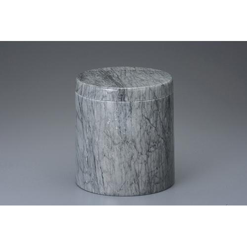 骨壷 グレー大理石 5寸 [5寸] 【供養 お盆 お彼岸 仏具】