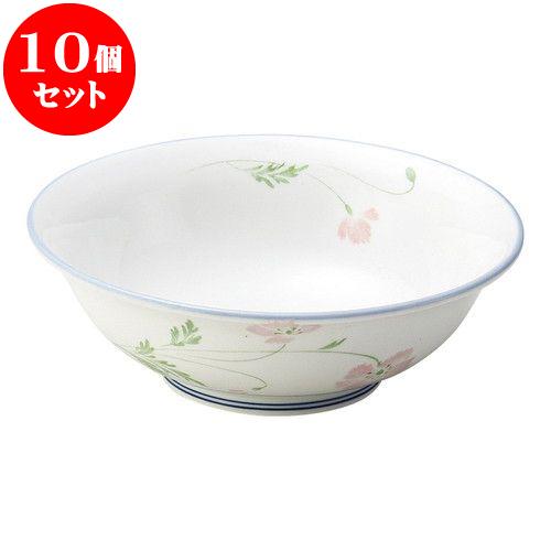 10個セット 和陶オープン マーガレット 煮物碗 [ 16.3 x 5.4cm ・ 440cc ] 料亭 旅館 和食器 飲食店 業務用