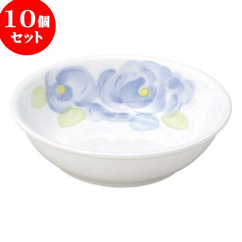 10個セット 和陶オープン ペールローズ 特小皿 [ 9.8 x 2.7cm ・ 105cc ] 料亭 旅館 和食器 飲食店 業務用