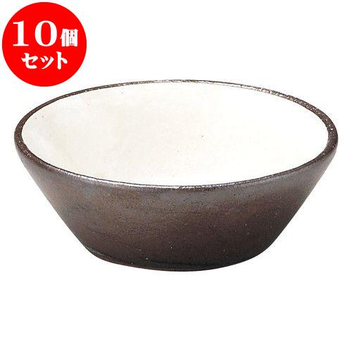 10個セット 土鍋オープン 粉引 大受台 [ 10 x 3.5cm ] 料亭 旅館 和食器 飲食店 業務用