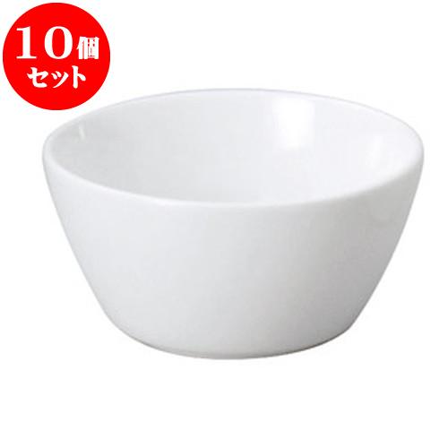 10個セット 洋陶オープン LSP(軽量強化磁器) E型シリアルボール(SS) [ 11 x 5.5cm ・ 300cc ] 料亭 旅館 和食器 飲食店 業務用