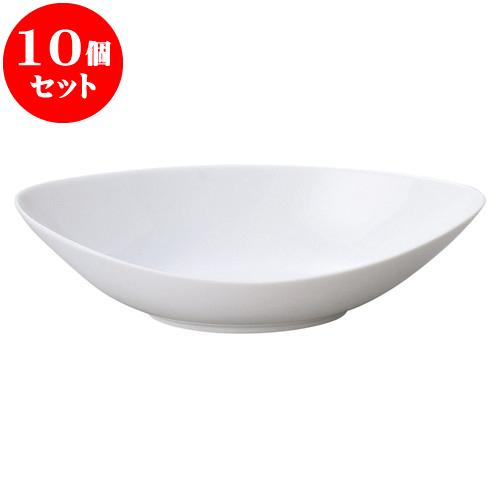 10個セット 洋陶オープン フィースト 31cmシイプベーカー [ 30.5 x 16.5 x 8.2cm ] 料亭 旅館 和食器 飲食店 業務用