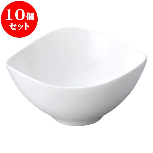 10個セット 洋陶オープン AngelWhite トライアングルボール(白) [ 20 x 10cm ] 料亭 旅館 和食器 飲食店 業務用