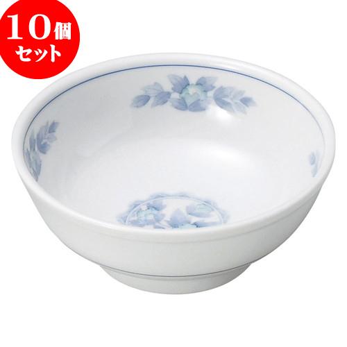 10個セット 中華オープン 三色牡丹 5.0玉丼 [ 15.8 x 6cm ] 料亭 旅館 和食器 飲食店 業務用