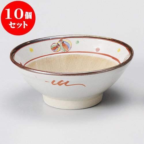 10個セット すり鉢 京風船6寸すり鉢 [ 18.7 x 7.7cm ] 料亭 旅館 和食器 飲食店 業務用