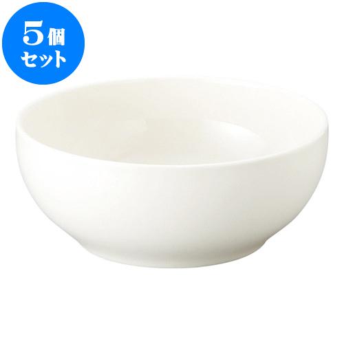 5個セット 洋陶オープン 新型ベーシック 6 1/2吋深ボール [ 15.8 x 6.6cm ] 料亭 旅館 和食器 飲食店 業務用