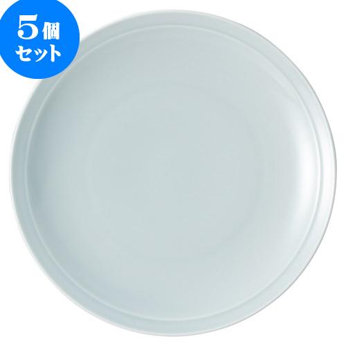 5個セット 中華オープン 青磁 尺1皿 [ 34.5 x 4.5cm ] 料亭 旅館 和食器 飲食店 業務用