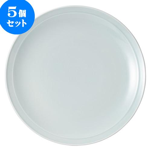 5個セット 中華オープン 青磁 尺3皿 [ 40.8 x 4.8cm ] 料亭 旅館 和食器 飲食店 業務用