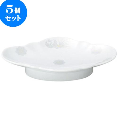 5個セット 中華オープン 北京 9吋木甲皿 [ 23.5 x 16 x 4cm ] 料亭 旅館 和食器 飲食店 業務用