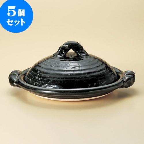 5個セット 陶板 織部11.0陶板(信楽焼) [ 37.5 x 33 x 15cm ] 料亭 旅館 和食器 飲食店 業務用
