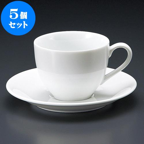 5個セット コーヒー 料亭 クレストアメリカン碗皿 [ 8.5 x 15 6.6cm 230cc 8.5・ 15 x 2cm ] 料亭 旅館 和食器 飲食店 業務用, 爽快ドラッグ:7b0fd753 --- sunward.msk.ru
