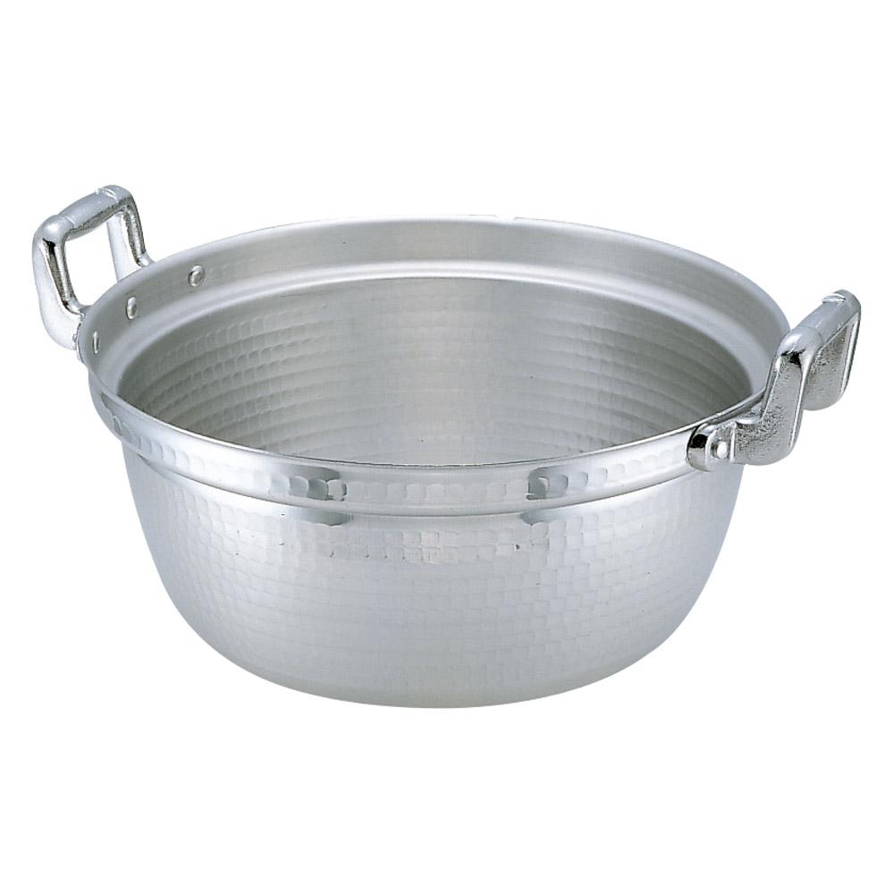 厨房用品 アルミ円付鍋 [ 45cm 深さ19.5cm 25L ] 【料亭 旅館 和食器 飲食店 業務用】