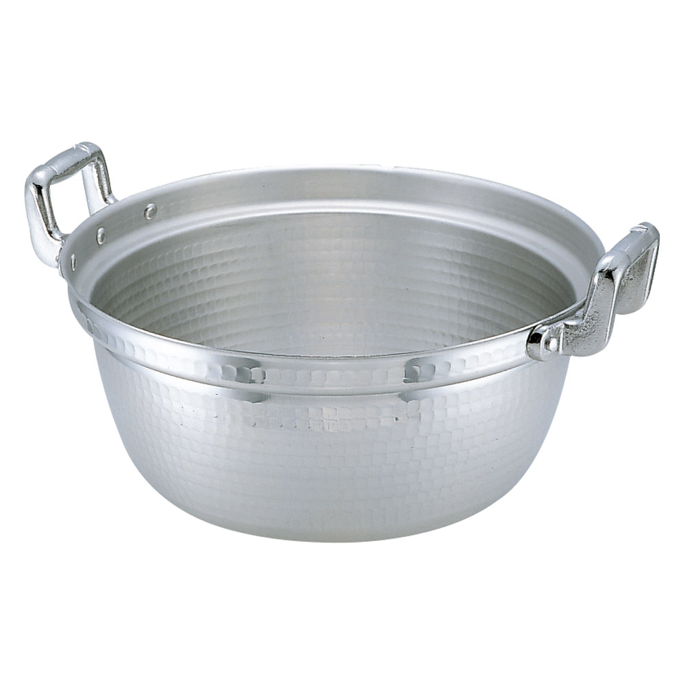 厨房用品 アルミ円付鍋 [ 60cm 深さ26.5cm 60L ] 【料亭 旅館 和食器 飲食店 業務用】