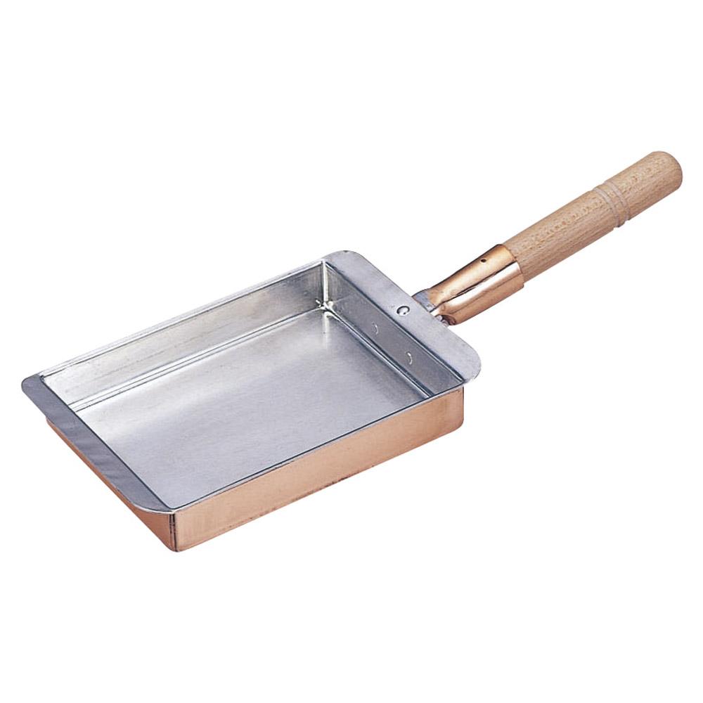 厨房用品 銅玉子焼関西型 [ 22.5 x 18 x 3cm ] 【料亭 旅館 和食器 飲食店 業務用】