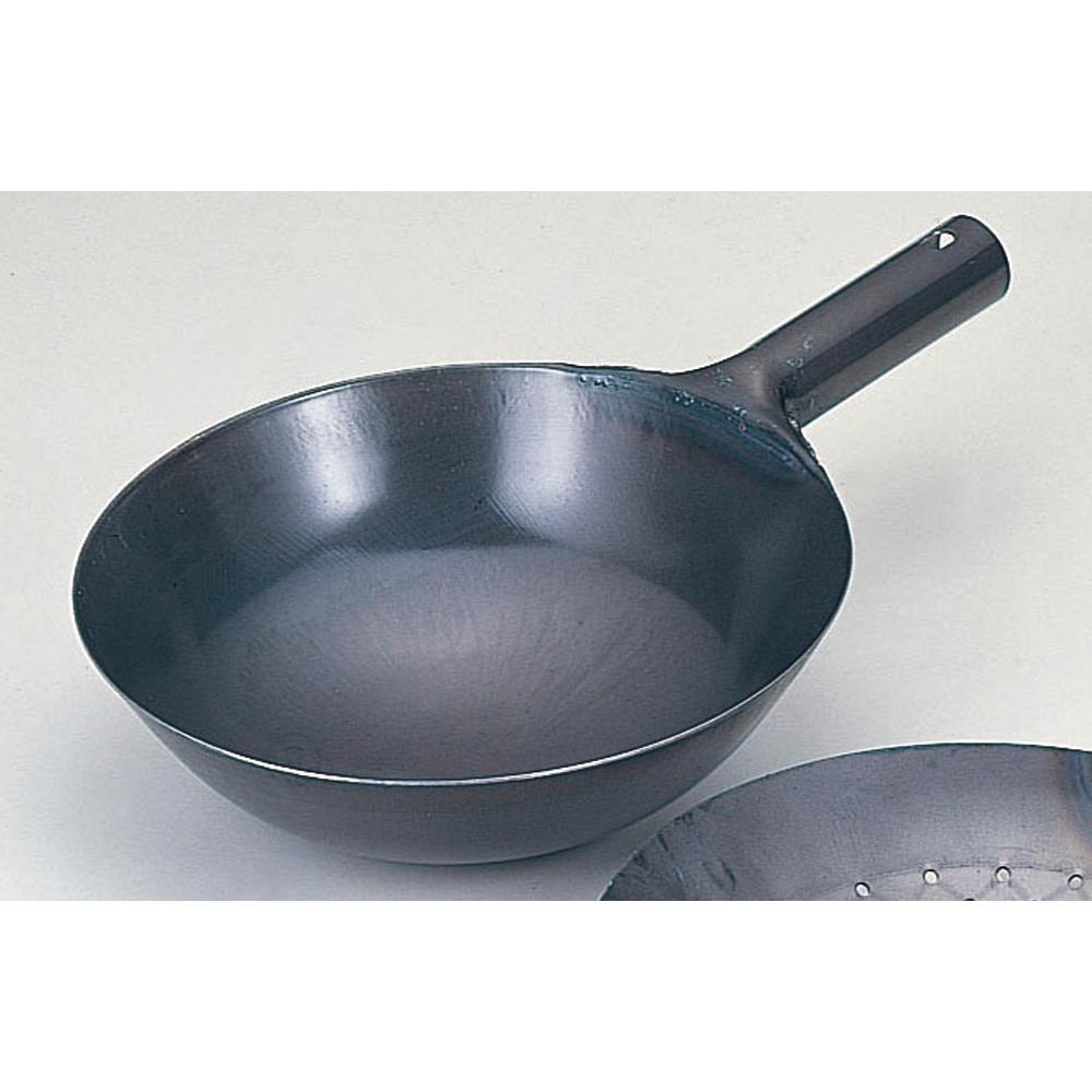 厨房用品 鉄北京鍋 [ 33cm ] 【料亭 旅館 和食器 飲食店 業務用】