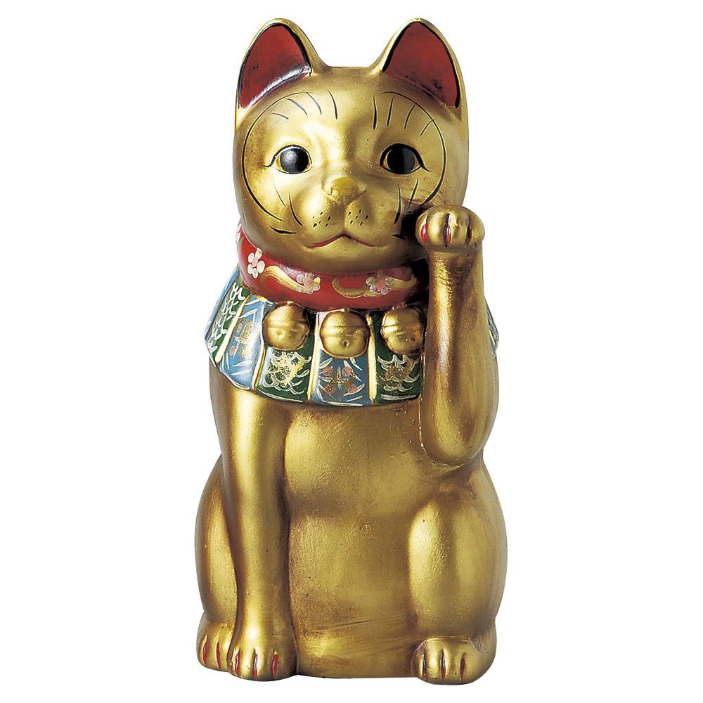招き猫 古色大正猫大(金) [ 36.5cm ] | 招き猫 ねこ cat 縁起物 お土産 かわいい おしゃれ 飾り 玄関飾り 開運 商売繁盛 家内安全 お守り まねきねこ プレゼント ギフト 贈り物 開店祝い