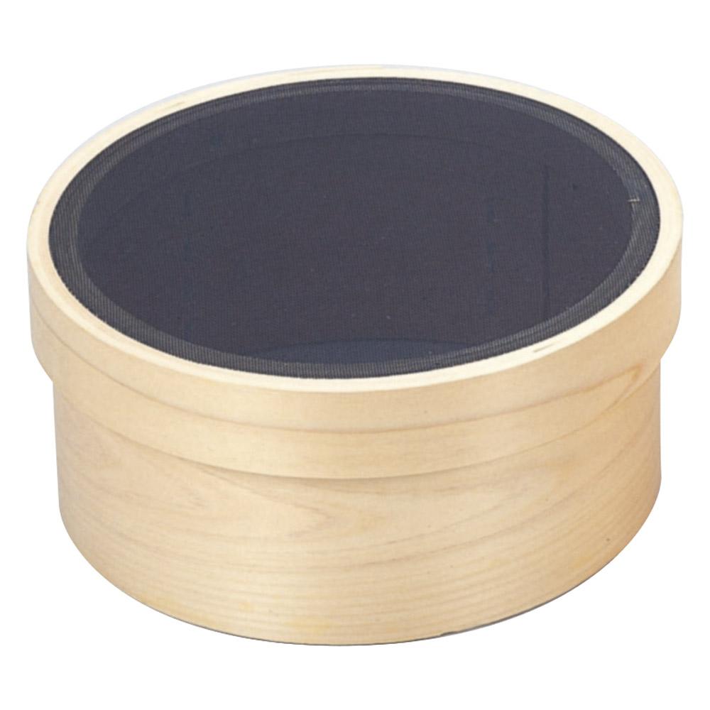 厨房用品 木枠代用毛裏ごし [ 9寸荒目 27 x 11cm ] [ 枠:桧 網:ナイロン ] 【料亭 旅館 和食器 飲食店 業務用】