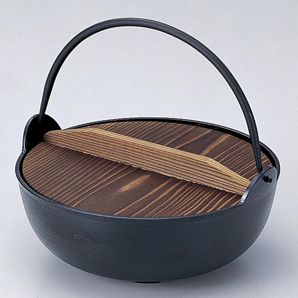厨房用品 アルミ田舎鍋 [ 30cm ] 【料亭 旅館 和食器 飲食店 業務用】